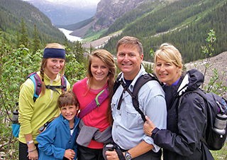 Backroads family Canadian Rockies t
